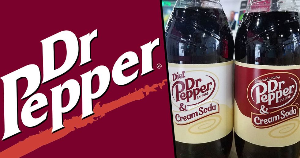 Dr. Pepper Is About to Drop a Cream Soda Flavor