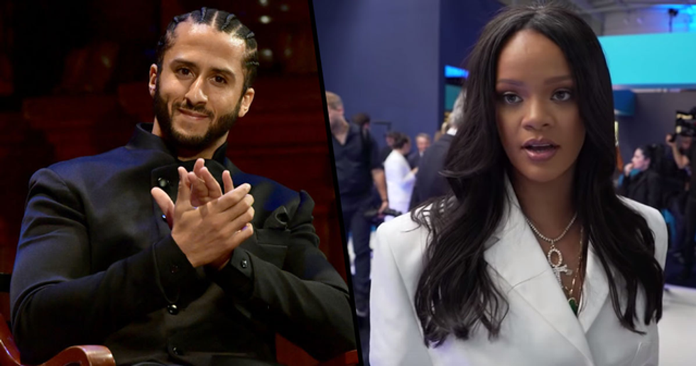 Rihanna Turned Down Super Bowl Gig to Show Support for Colin Kaepernick