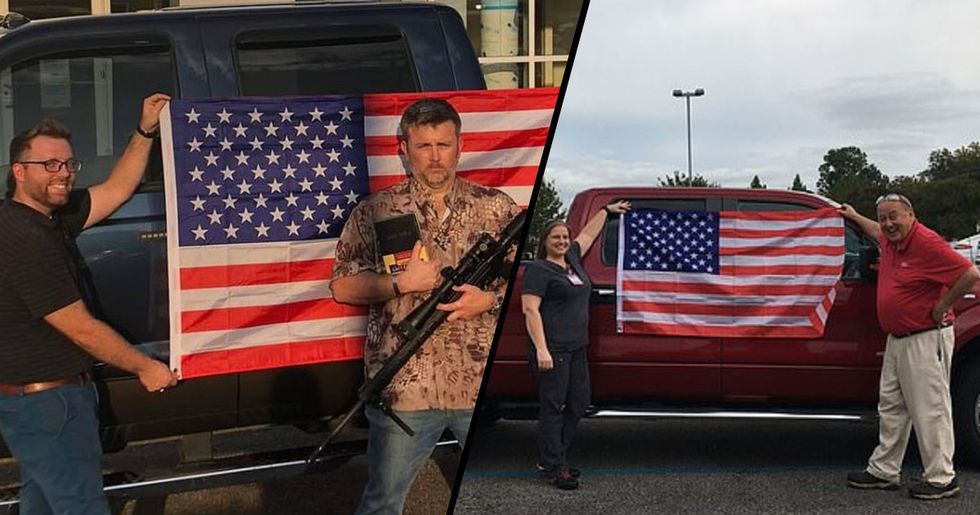 Ford Dealership Offers a Free Bible, American Flag, and $400 off an Assault Rifle With Every Car Bought
