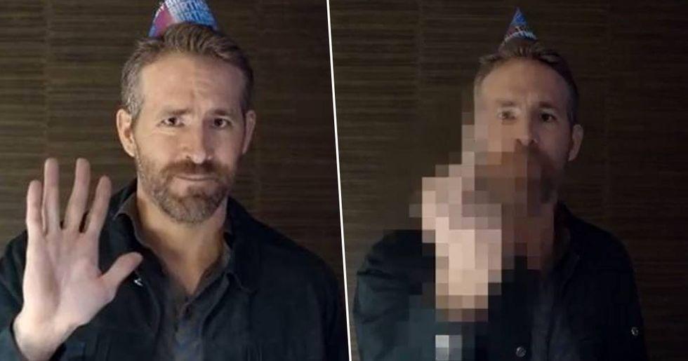 Ryan Reynolds Savages Hugh Jackman with Rude Birthday Message