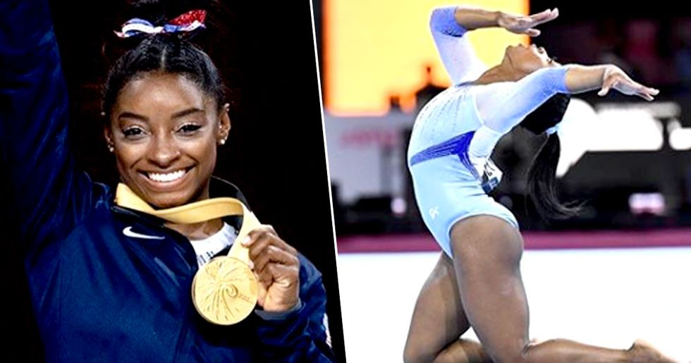Simone Biles Makes History by Winning 25th Gold Medal at World Championships