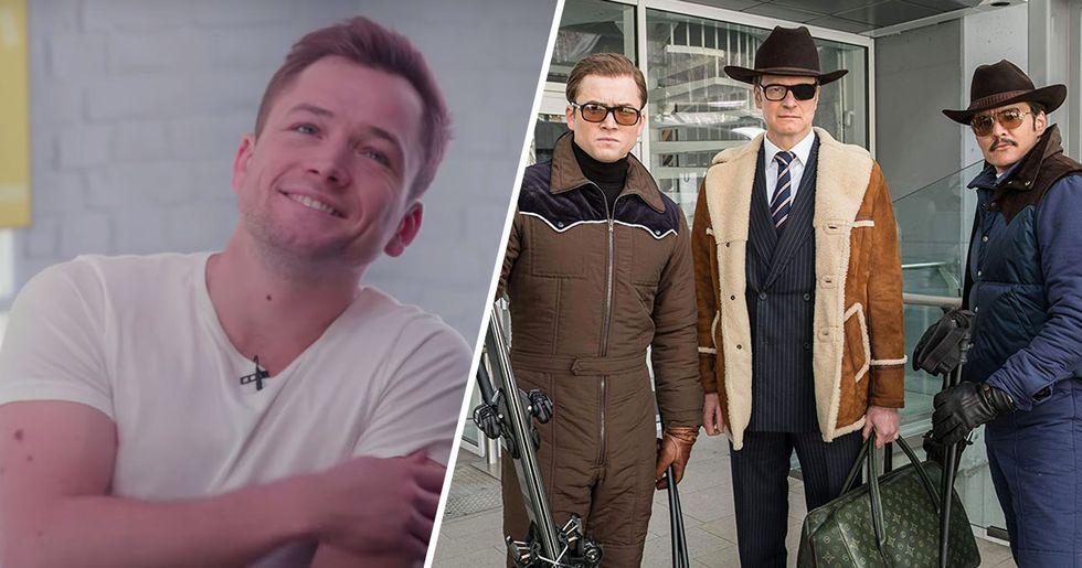 Taron Egerton Confirms 'The Kingsman 3' Script Has Been Written
