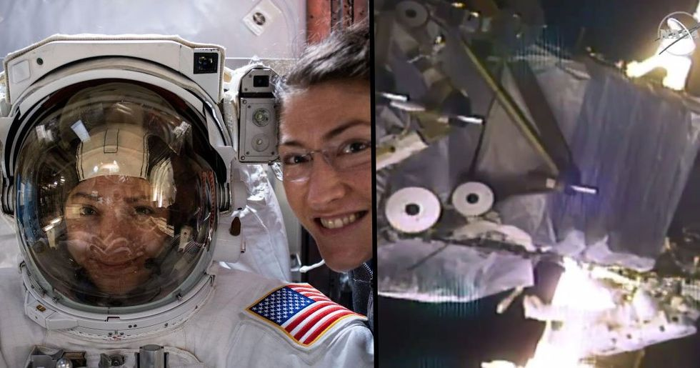 The First-Ever All-Female Spacewalk Has Just Taken Place