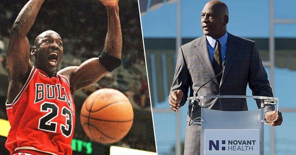 Michael Jordan Donates Seven Million to Open Health Clinics for the Uninsured