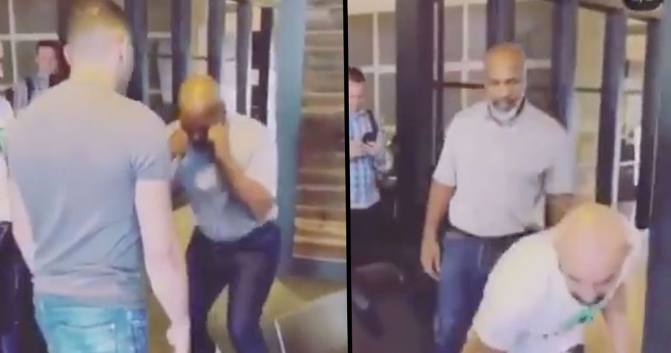 53-Year-Old Mike Tyson Shows He's Still Got Lightening-Quick Moves in Video