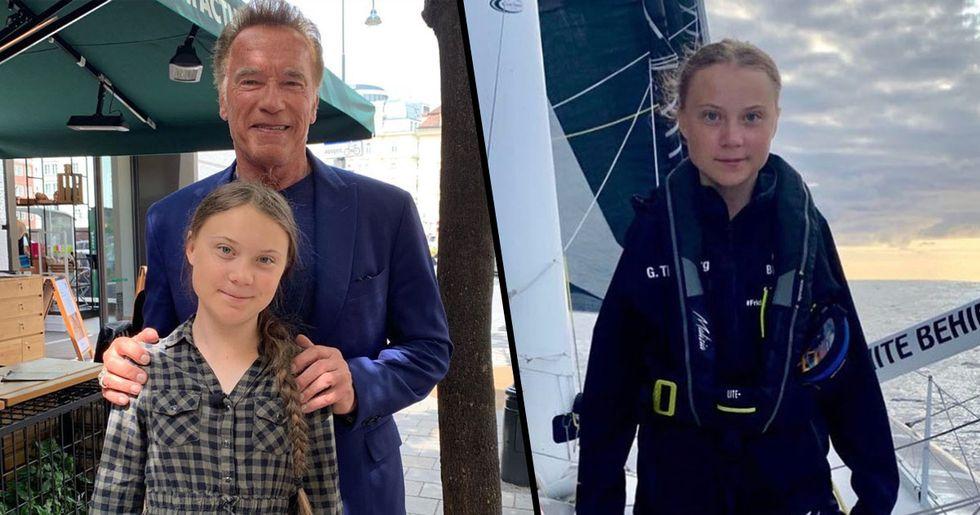 Arnold Schwarzenegger Praises Greta Thunberg Saying 'I Think Politicians Are Listening'