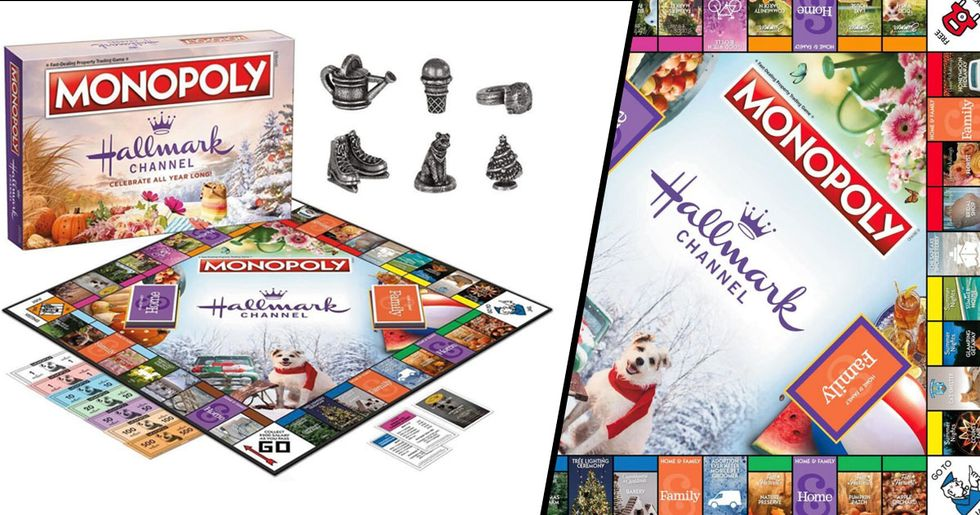 Hallmark-Themed Monopoly Now Exists and We're More Excited for Christmas Than Ever
