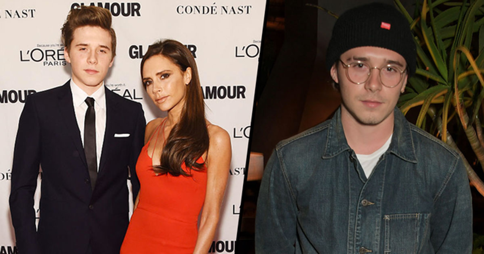Brooklyn Beckham Is Dating a Model That Used to Work as a Victoria Beckham Lookalike