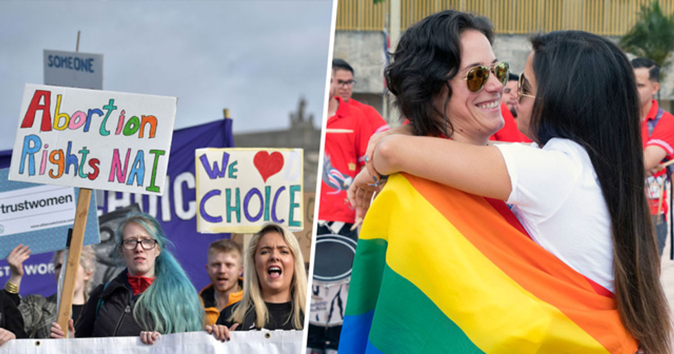 Abortion Decriminalized and Same-Sex Marriage Legalized in Northern Ireland
