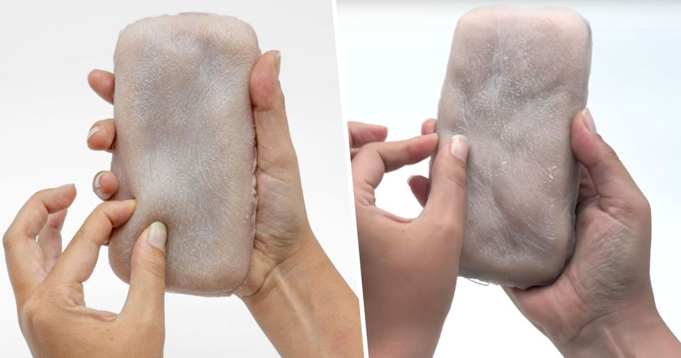 'Skin Phone Case' Feels like Real Human Flesh When You Touch It