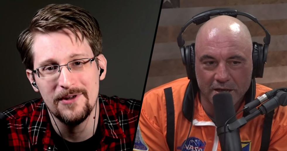 Joe Rogan's Interview with Edward Snowden Had All of Twitter Talking