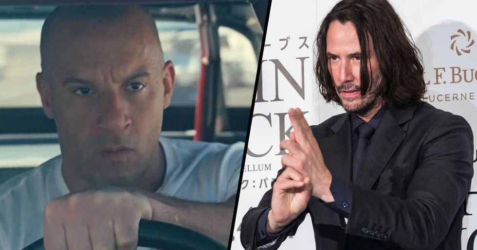 Keanu Reeves Is Being Lined up for 'Fast and Furious 9' Role