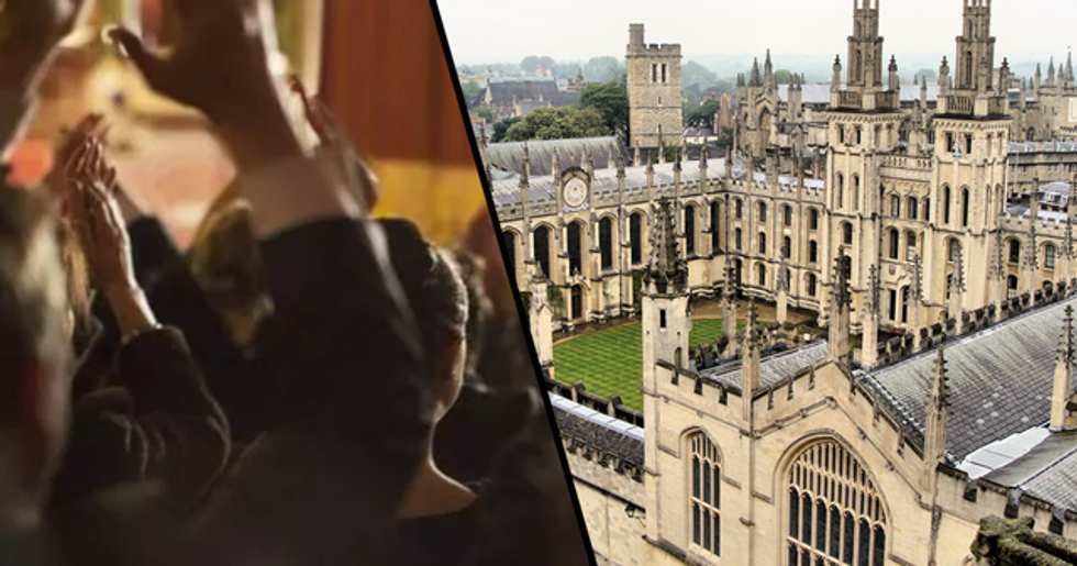 Students at Oxford University Vote Replace Clapping With Silent Jazz Hands to Prevent Triggering Anxiety