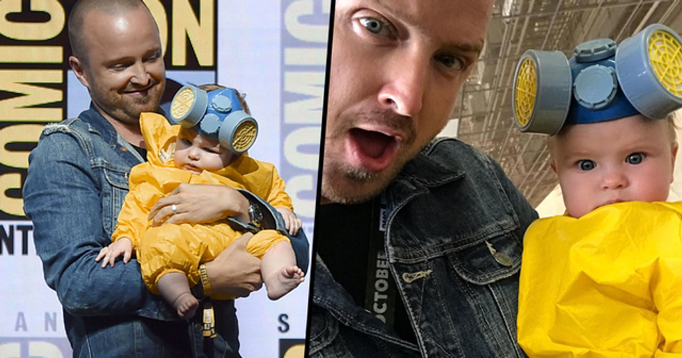 Aaron Paul Got 'Breaking Bad' Hazmat Suit for His Child 5 Years Before She Was Born