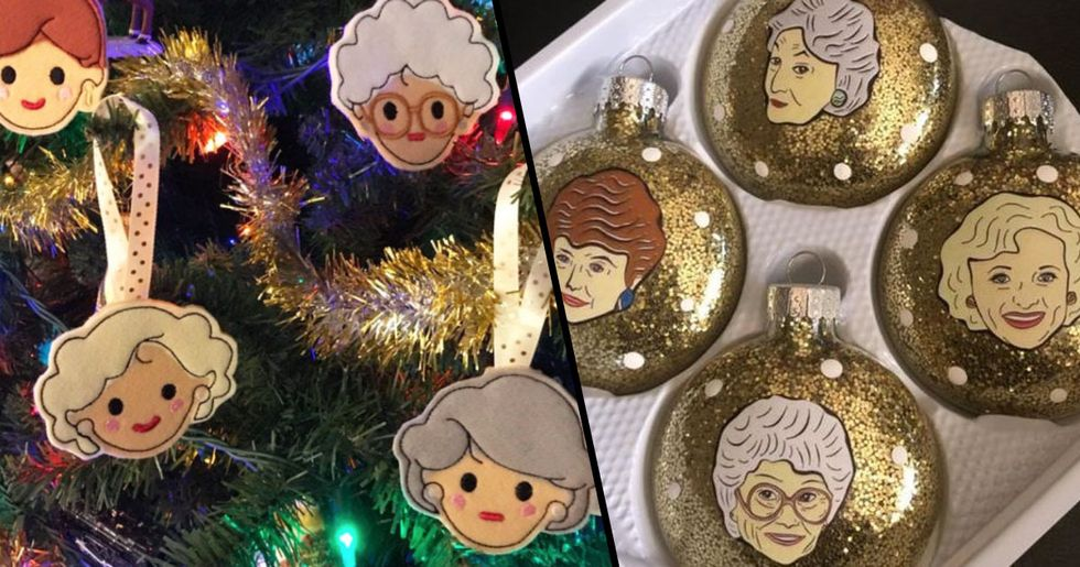 'Golden Girls' Christmas Decorations Exist and They're Perfect