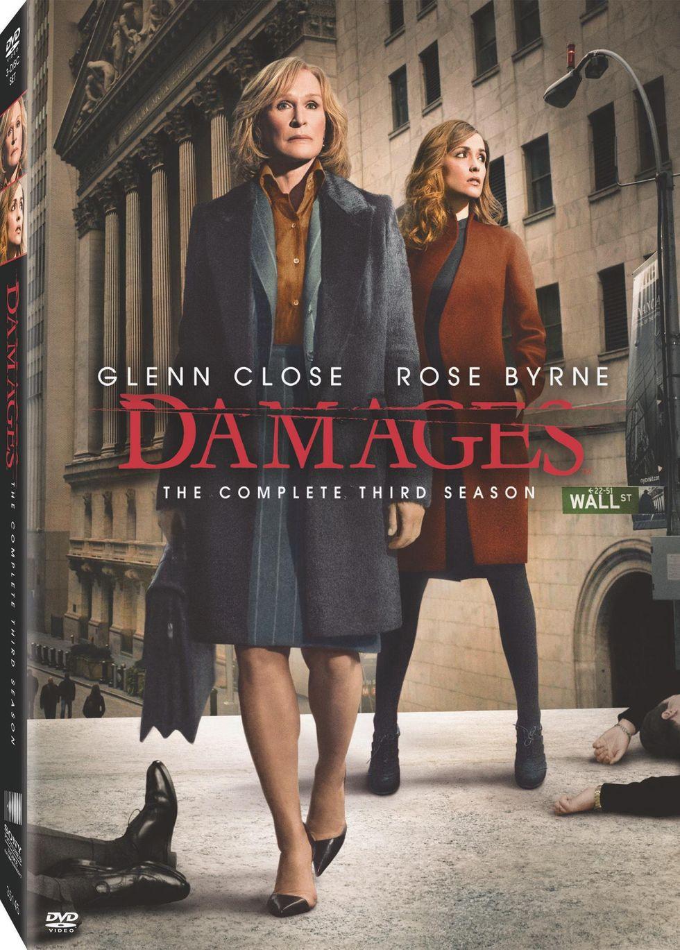 Damages' Brilliant Season 3 On DVD