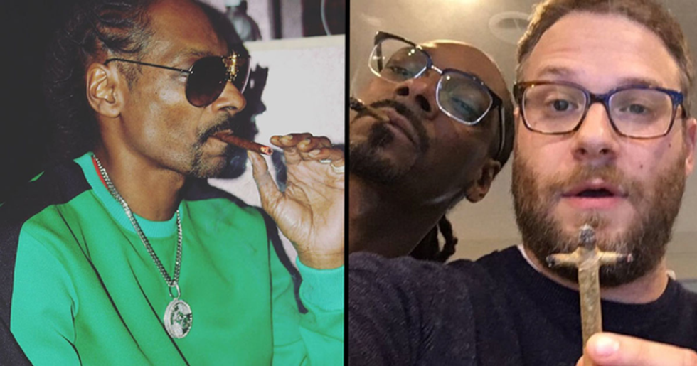 Snoop Dogg Says Seth Rogen Is the Best Joint Roller He's Ever Met
