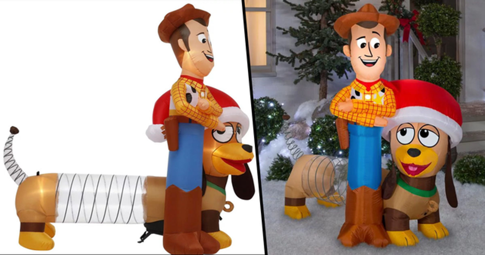 Home Depot Is Selling Toy Story Holiday Inflatables and We Need Them