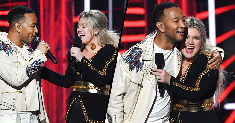 John Legend and Kelly Clarkson Re-Write 'Baby It's Cold Outside' Because the Old Lyrics Were Offensive