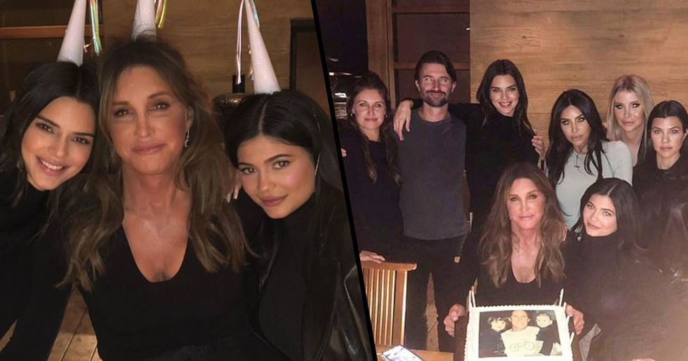 Everyone's Confused About Caitlyn Jenner's Birthday Cake