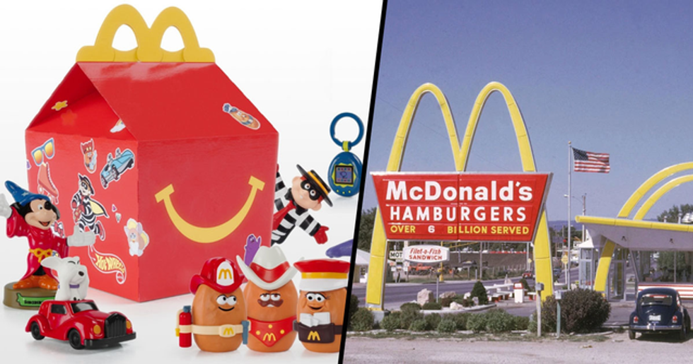 McDonald's Is Bringing Back Happy Meal Toys From the '90s
