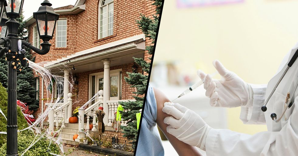 Anti-Vaxxer Claims She Gave Trick-Or-Treaters Lollipops Infected with Chickenpox