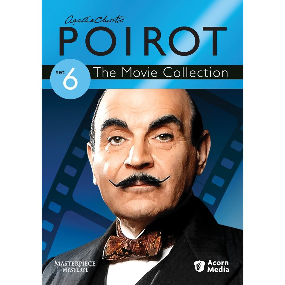 Agatha Christie's Poirot The Movie Collection 6 On DVD