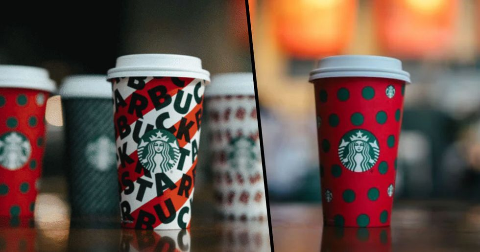 Starbucks Drops Its Holiday Cups and Is Giving out Reusable Ones for Free
