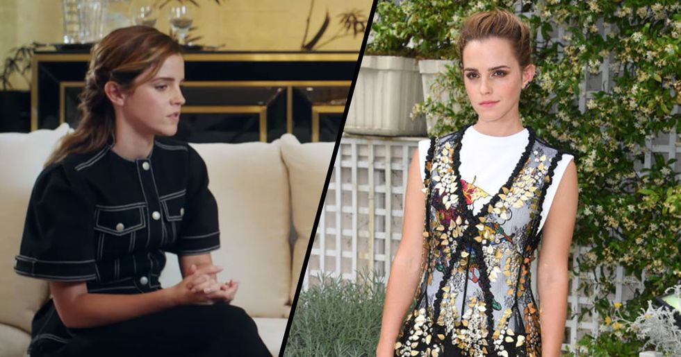 Emma Watson Describes Herself as Being 'Self-Partnered' Rather Than 'Single'