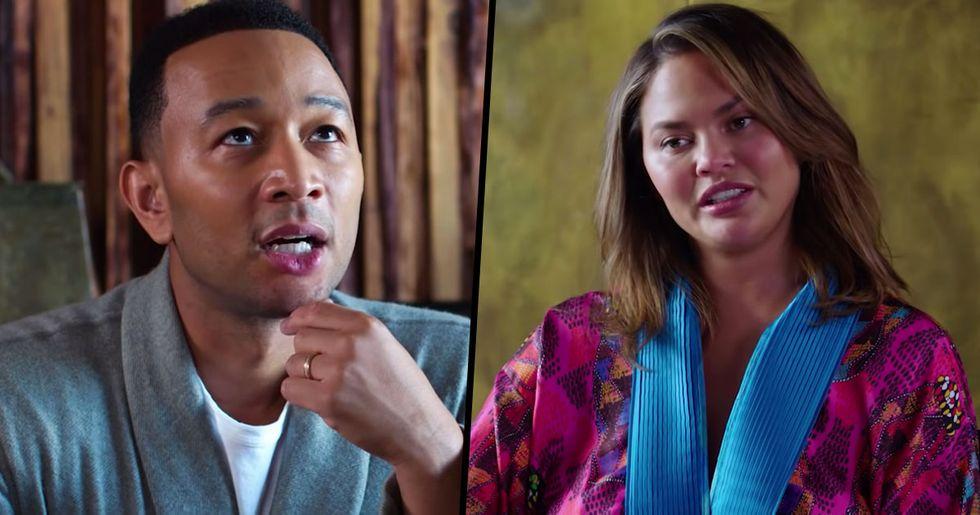 John Legend and Chrissy Teigen Take Lie Detector Test