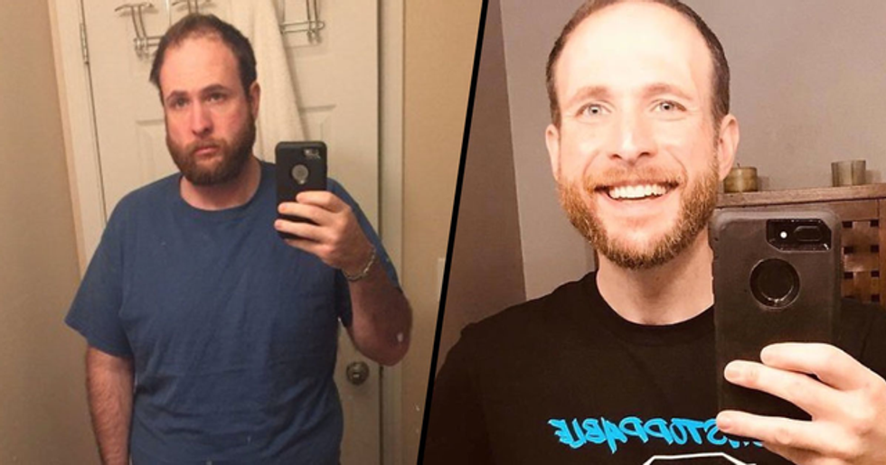 Man Quits Drinking And Takes Selfies For Three Years to Show Difference