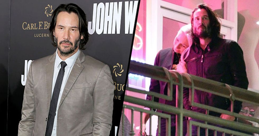 Keanu Reeves Opens up About Ex Girlfriend's Death to New Partner