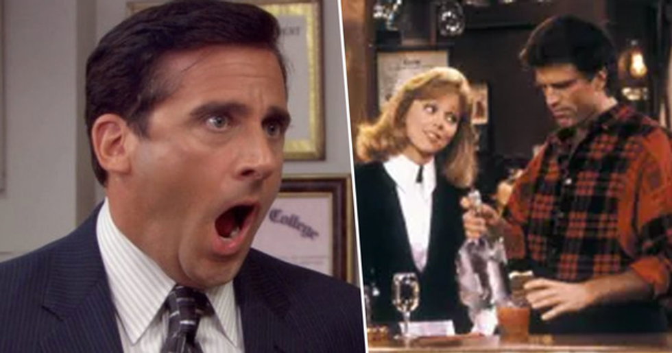 Steve Carell Pitches 'Cheers' Reboot With 'The Office' Cast