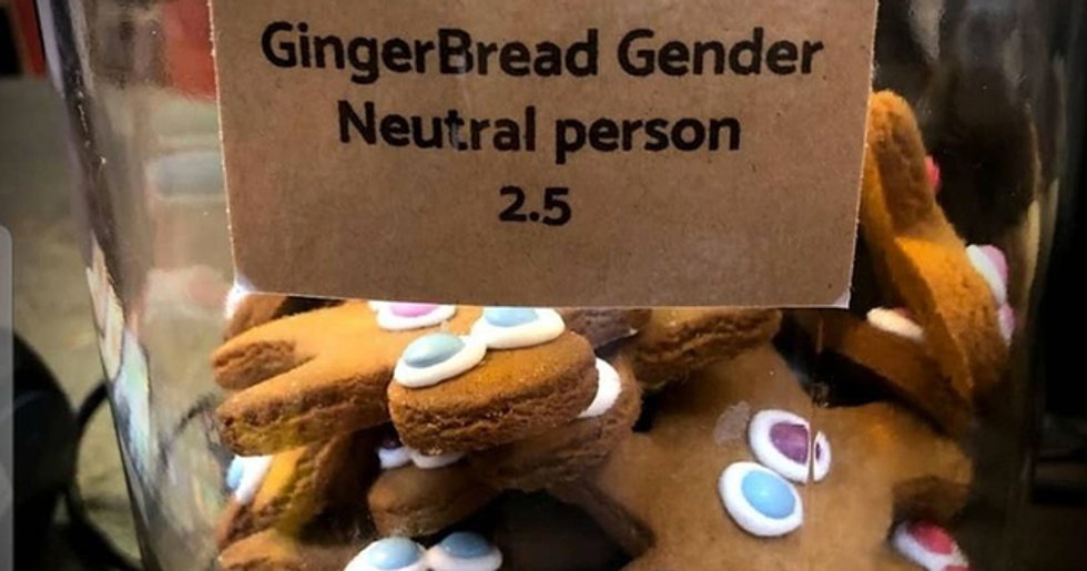 Cafe Replaces Gingerbread Men With 'Gender Neutral Gingerbread Person'