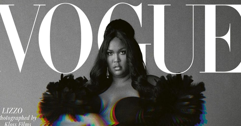 Lizzo's First Ever Vogue Cover is Here and it's Everything