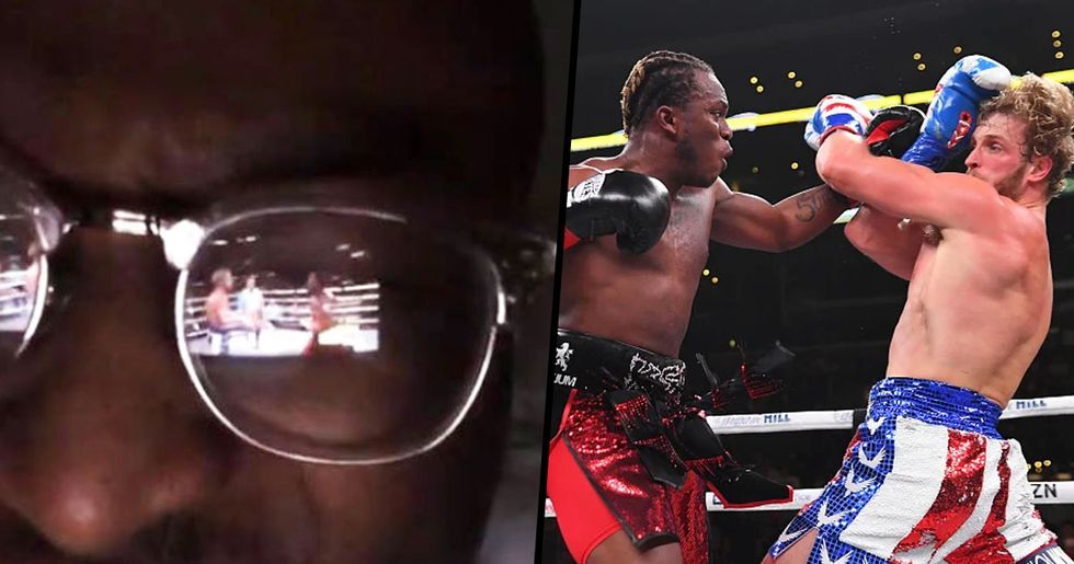 11,000 People Watched KSI and Logan Paul Fight Through Reflection in YouTube Streamer's Glasses