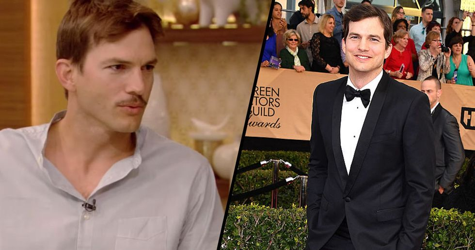 Ashton Kutcher Says He's Not Setting up a Trust Fund for His Kids