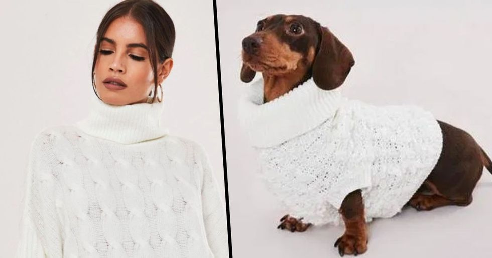 You Can Now Buy Matching Turtlenecks for You and Your Dog