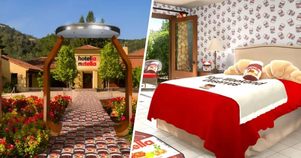 A Nutella Hotel Is Opening in California and It Looks Amazing
