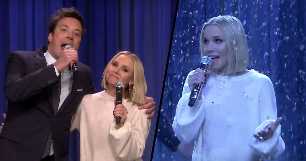 Kristen Bell Sings 17 Different Disney Songs in 5 Minutes and It's Pure Magic