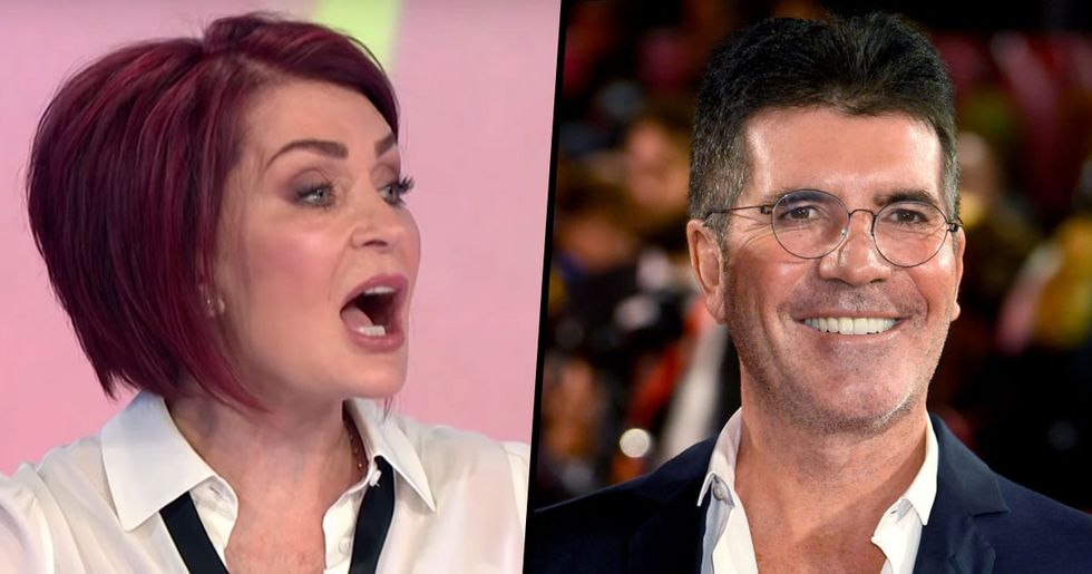 Sharon Osbourne Brutally Mocks Simon Cowell's Appearance After His Weight Loss
