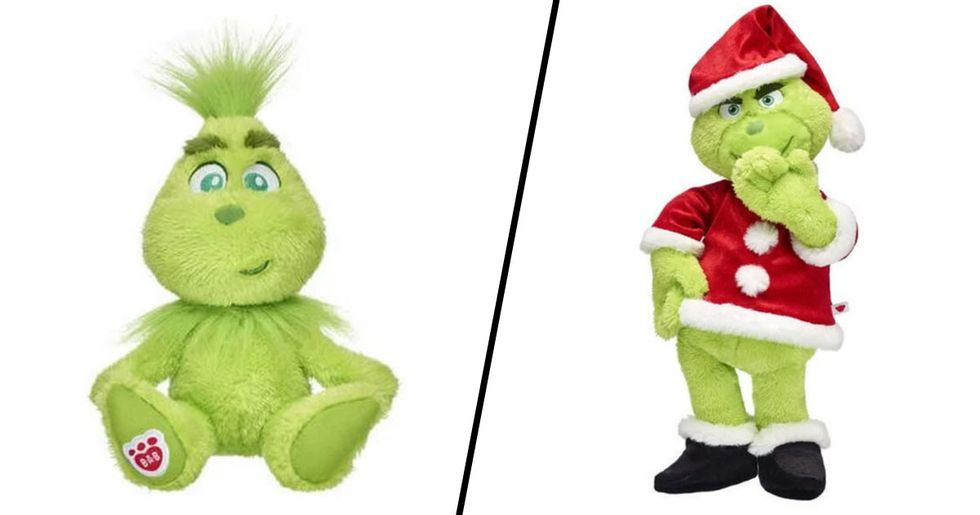 Build-A-Bear Has Launched a Limited-Edition Grinch Collection Just in Time for Christmas