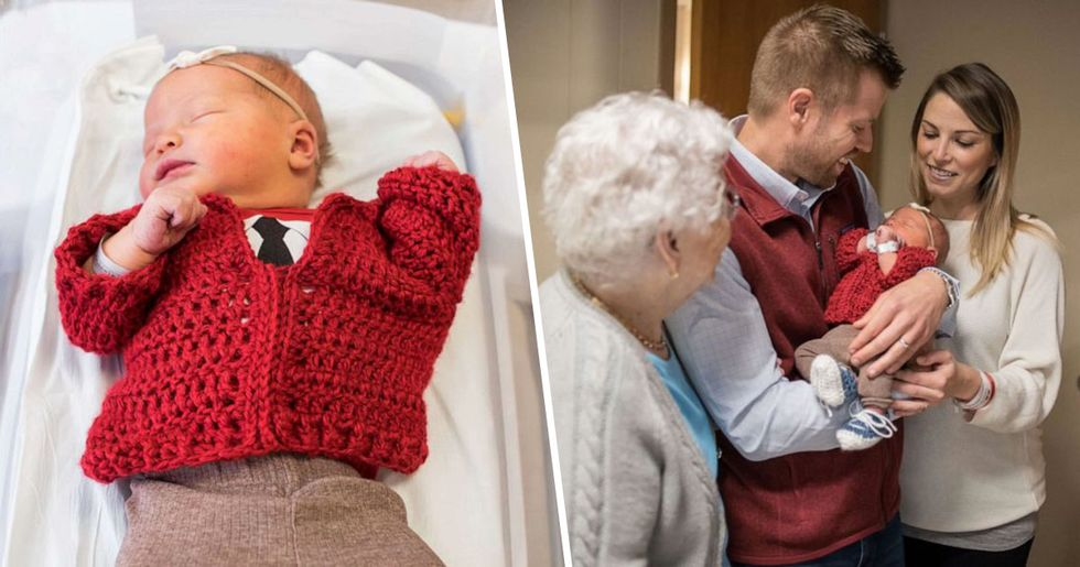 These Newborns Have Been Dressed up as Mr. Rogers to Celebrate World Kindness Day