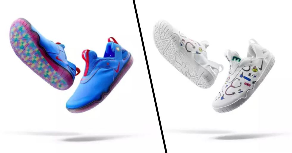 Nike Creates a Pair of Shoes Specifically for Doctors and Nurses