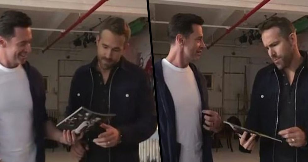Hugh Jackman Trolls Ryan Reynolds Over People's 'Sexiest Man Alive'