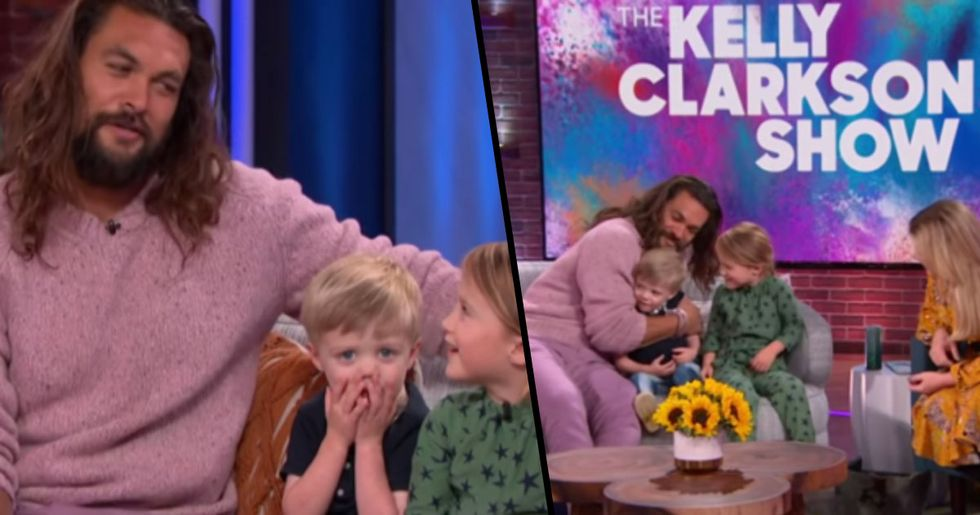 Kelly Clarkson's Kids Interviewed Jason Momoa, They Asked Him Where Aquaman Uses the Bathroom