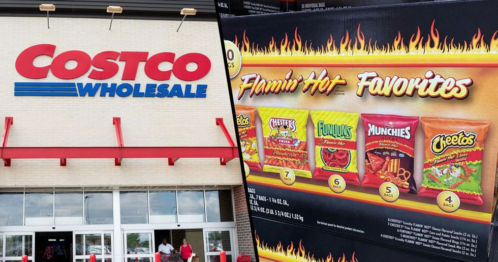 Costco Is Selling a Flamin' Hot Variety Box Filled with All of Our Favorite Spicy Snacks
