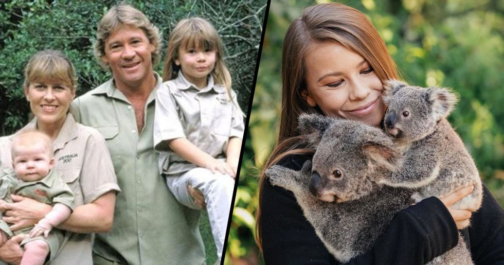 Bindi Irwin Shares Touching Tribute to Her Father on His National Day