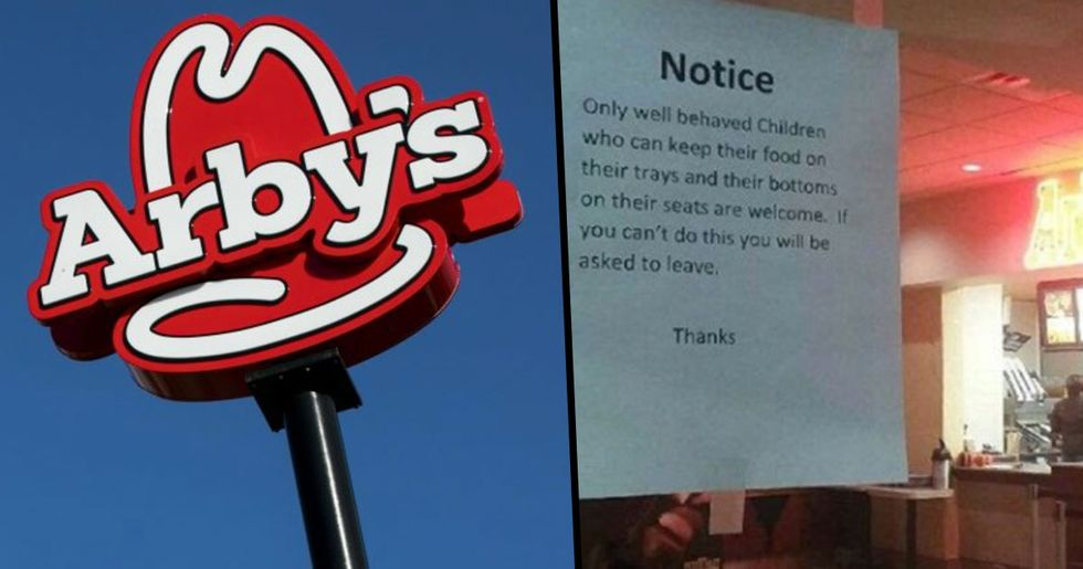 Arby's Restaurant Forced to Remove 'Insensitive' Sign Following Outcry from Angry Parents