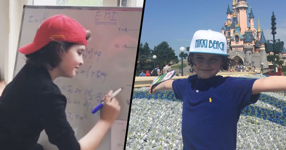 9-Year-Old Genius Set to Become Youngest Ever College Graduate